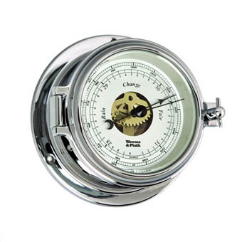 Chrome Endurance II 105 Open Dial Barometer