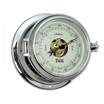 Chrome Endurance II 115 Open Dial Barometer
