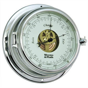 Chrome Endurance II 135 Open Dial Barometer