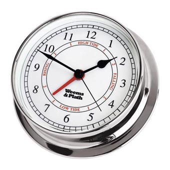 Chrome Endurance 125 Time & Tide Clock
