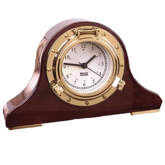 Nautical Tambour Clock