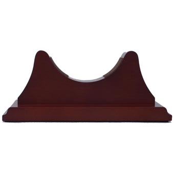Single Mahogany Base for Atlantis Collection