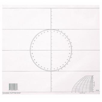 Universal Plotting Sheet (50 Sheet Pad)