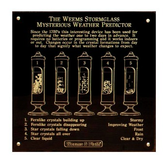 Weems Stormglass Plate